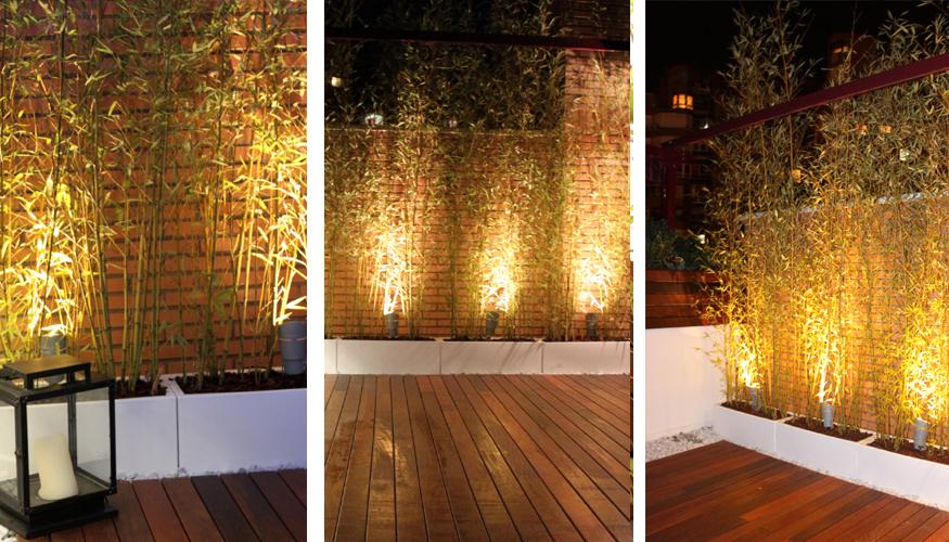 Especial dise o de jardines ticos y terrazas la - Fuentes para terraza ...