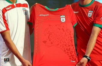 Camiseta iraní, de las más bonitas del Mundial de Fútbol