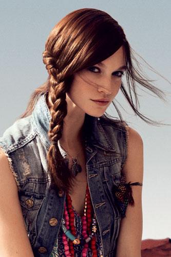 Trenzas que marcan tendencia - Peinados de melenas largas ...