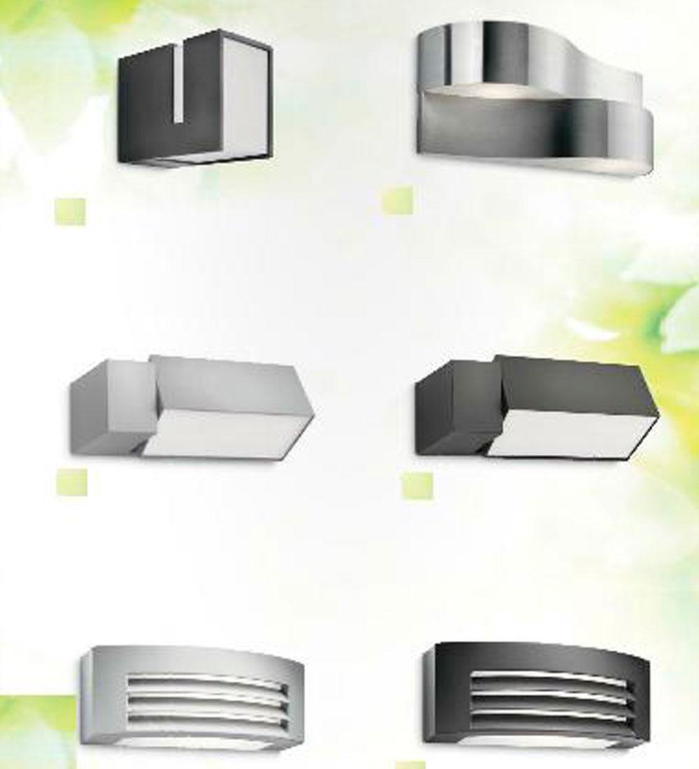 Iluminaci n para exterirores - Iluminacion de pared ...