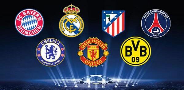 Partidos de ida de los cuartos de final de la Liga de Campeones