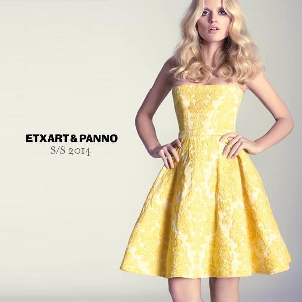 Vestidos coctel amarillos