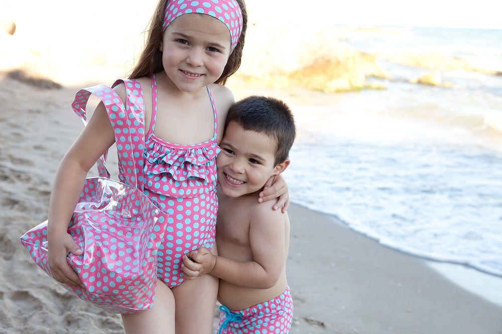Imagenes de trajes de ba o para nina for Ropa de bano infantil
