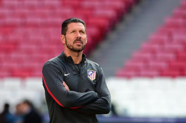 Pelatih Atletico Madrid Diego Simeone