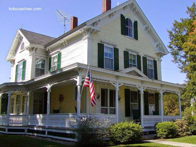 16 modelos de casas americanas for Old style homes built new