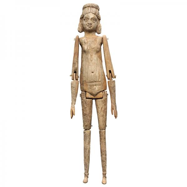 ancient roman ivory articulated doll from tarraco