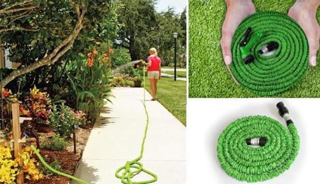 Quieres comprar la manguera extensible hose para tu jard n - Mangueras para jardin ...