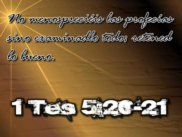 Profecia Biblica 2014 de Las Profecías Bíblicas