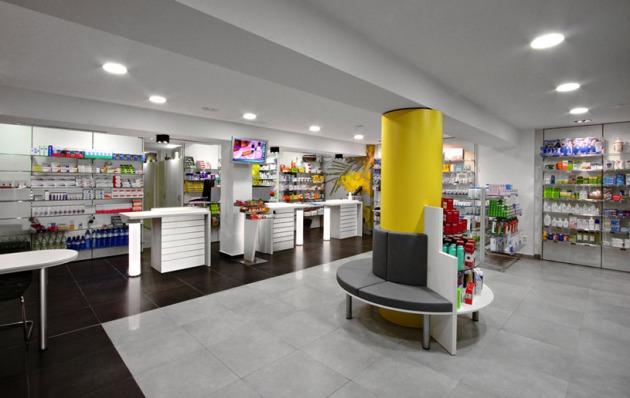 El mobiliario de farmacia atractivo al cliente for Muebles para farmacia