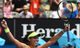 La joven Madison Keys vence a Venus Williams en Abierto de Australia