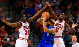Dallas Mavericks 102 - 103 Chicago Bulls (preseason)