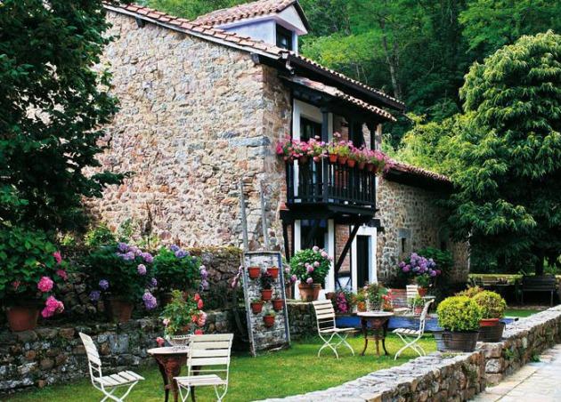Tips para decorar su casa en una casa r stica moderna for Casa moderna rustica