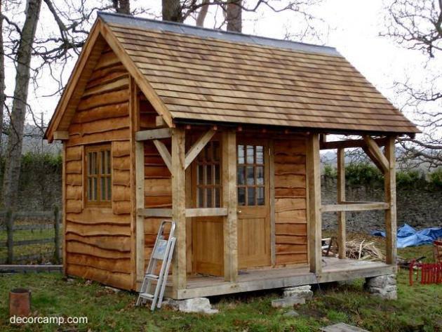 Dise os de cabinas casetas for Casetas de jardin pequenas