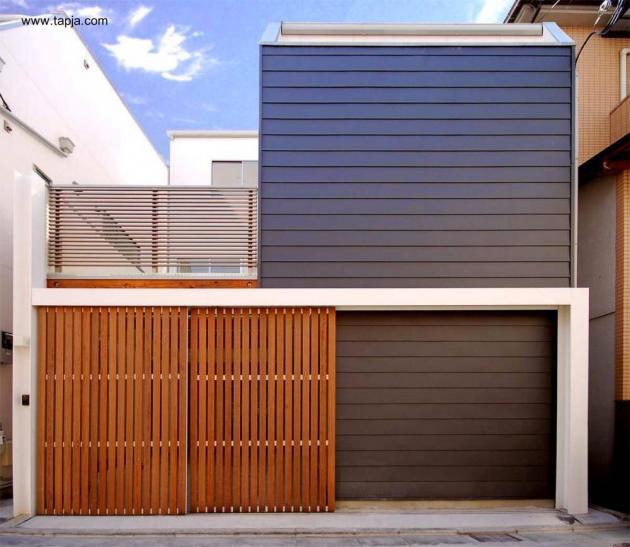 45 fachadas de casas peque as for Hotel design genes