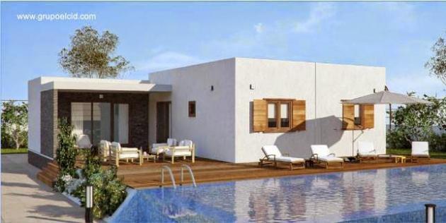 25 modelos de casas modulares for Modelos de casas de una sola planta