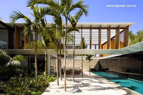 Casas modernas y contempor neas en brasil for Casas modernas brasil