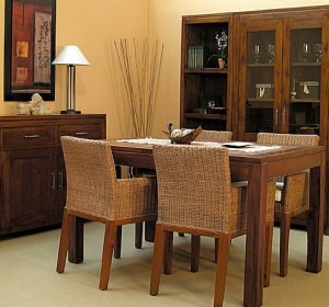 Ideas para decorar tu living comedor for Muebles de comedor rusticos