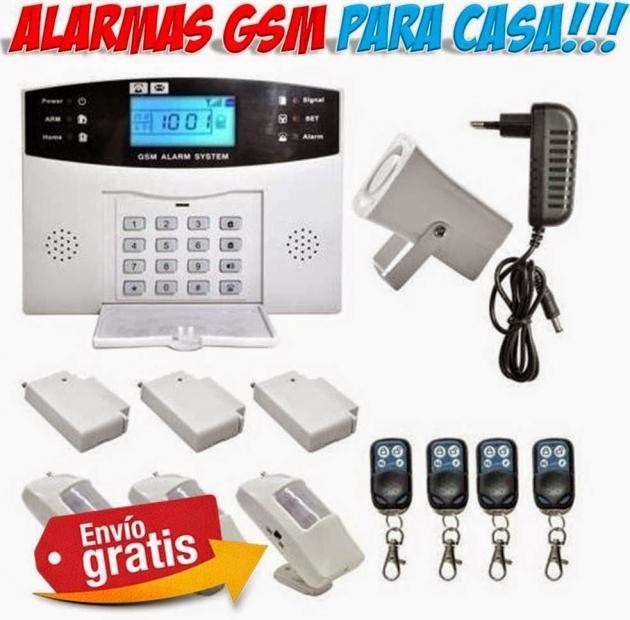 Alarmas para casa gsm f ciles de instalar seguridad - Alarmas baratas para casa ...