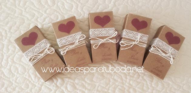 cajitas para regalos de boda