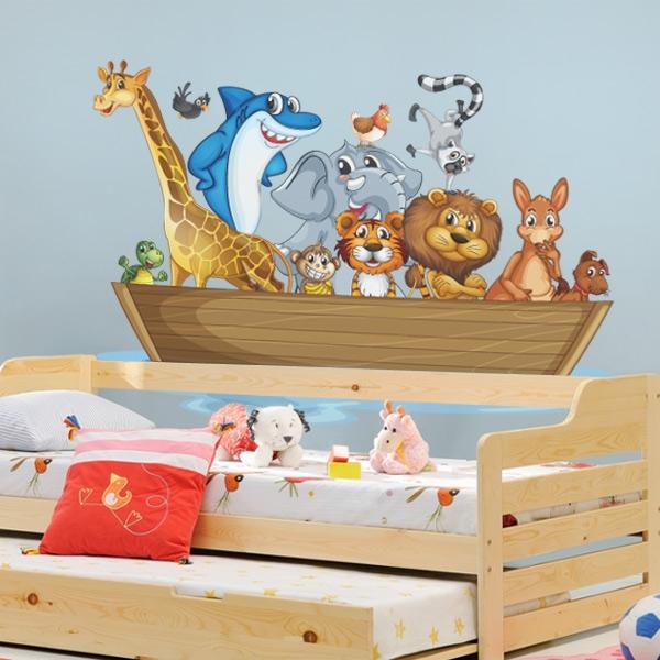 Decorar espacios infantiles con vinilos decorativos Vinilos de pared infantiles