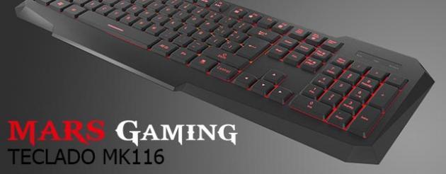 AN�LISIS HARD-GAMING: Teclado Mars Gaming MK116