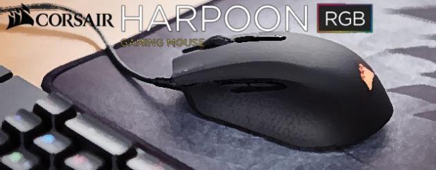 ANÁLISIS HARD-GAMING: Ratón Corsair Harpoon RGB