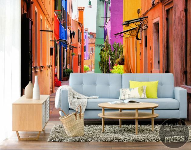 Decora tu casa con fotomurales y vinilos for Fotomurales pared paisajes