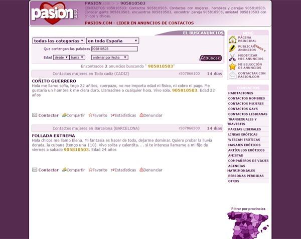 Pasion.com contactos mujeres barcelona [PUNIQRANDLINE-(au-dating-names.txt) 58