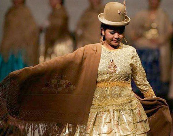 0276c2285 Sombrero Bombín ? Última moda para cholitas