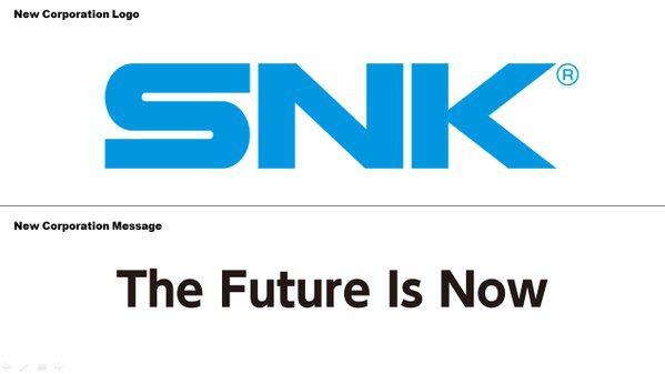 SNK Playmore recupera el antiguo logo y eslogan de SNK