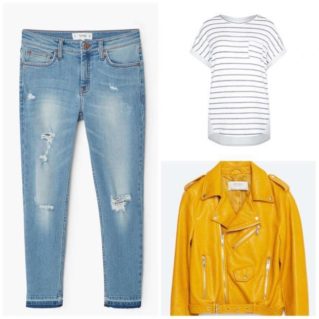 La chaqueta amarilla