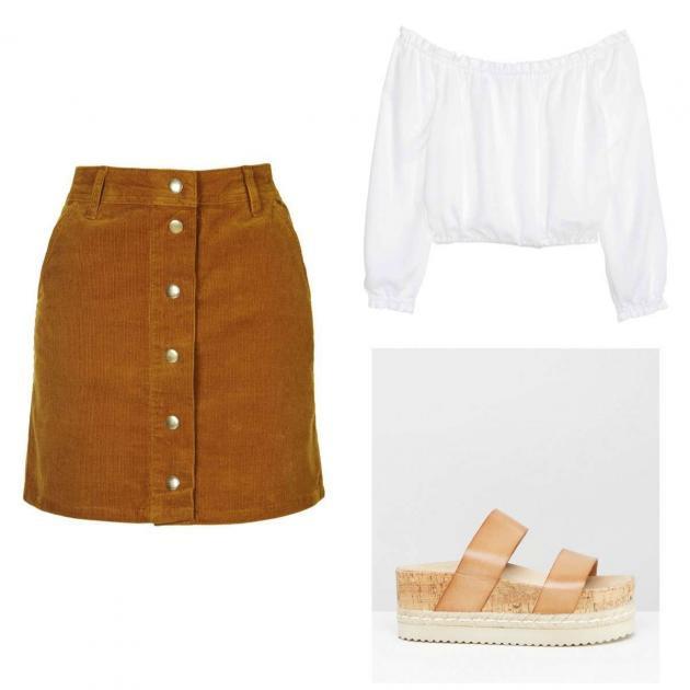 Nuevo Must Have del verano  la falda vaquera con botones 53d7352fb27b