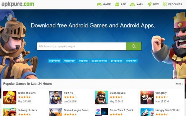 Apkpure Descarga El Archivo Apk De Juegos Y Aplicaciones Android