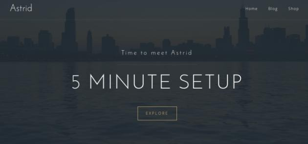 Astrid ? Tema Premium WordPress Gratis