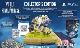 World of Final Fantasy presenta Edición Coleccionista