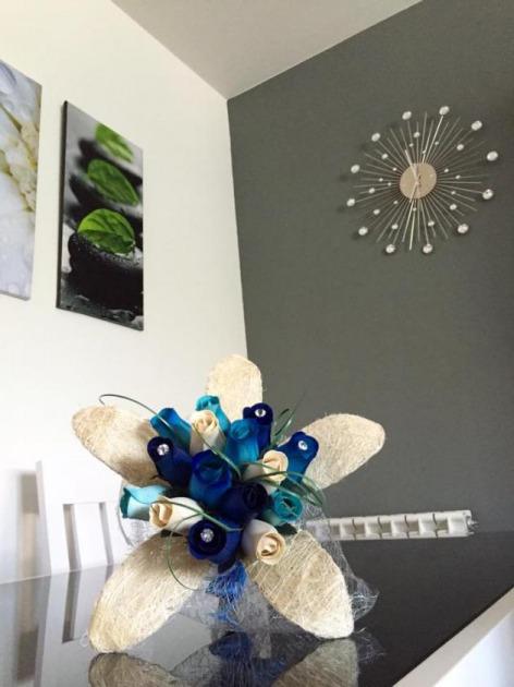 Decorar El Salon Con Flores Artificiales
