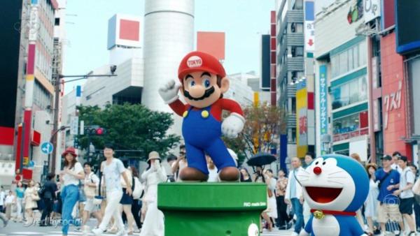 Super Mario protagoniza el v�deo de presentaci�n de los Juegos Ol�mpicos de Tokio 2020