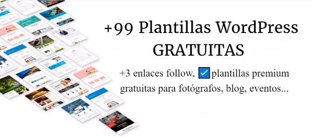 Los 99 themes wordpress gratis✅