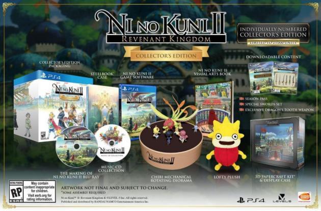 Ni no Kuni 2 presenta su edición coleccionista para PS4 y PC