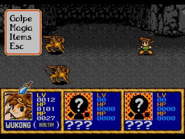 Imagen del juego Legend of Wukong de Sega Mega Drive / Genesis traducido al español