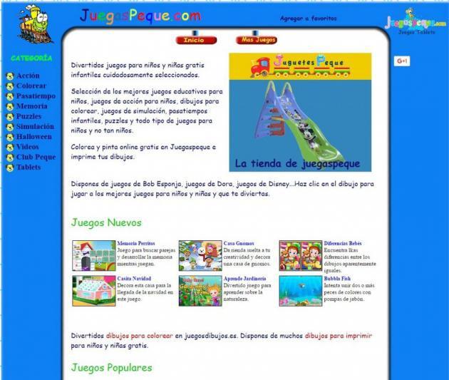 Juegos educativos online para niños