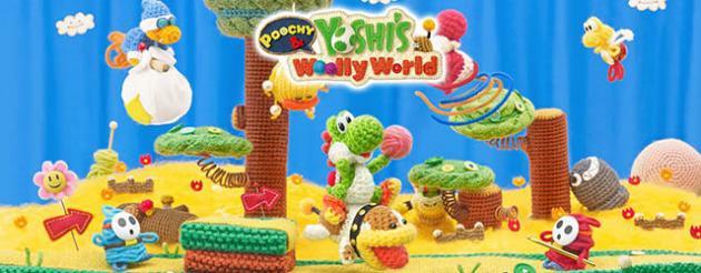 Imagen del juego ANÁLISIS: Poochy and Yoshi's Wooly World