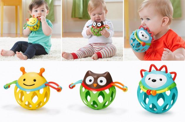 Qué juguetes son adecuados para un recién nacido?