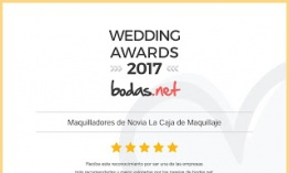 Wedding Awards 2017 para La Caja de Maquillaje