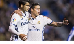 James y Morata con un pie fuera del Madrid