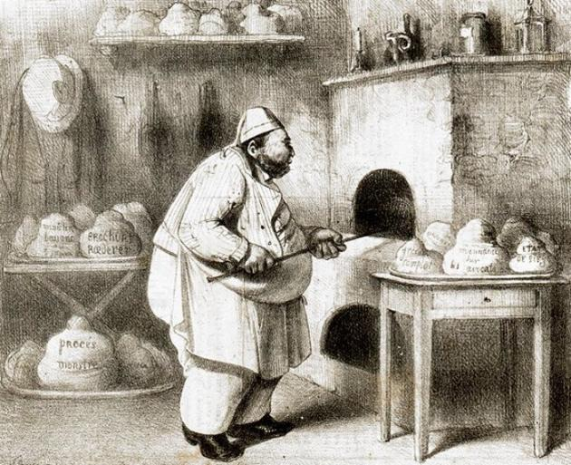 Resultado de imagen de panadero antiguo