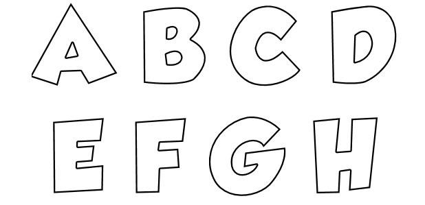 Letras Goticas Para Imprimir: Letras Para Imprimir 22801