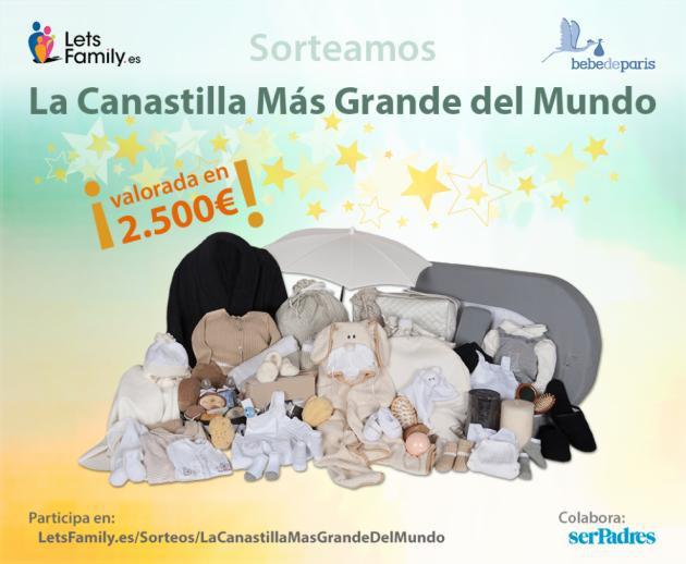 Canastilla Mas.La Canastilla De Bebe Mas Grande Del Mundo