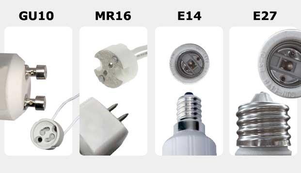 tipos de bombillas halogenas