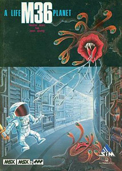 Imagen del juego M36 ? A Life Planet de MSX traducido al inglés